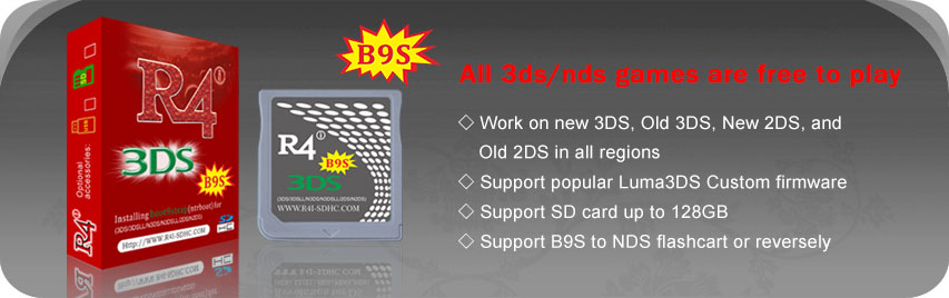 how to install 3ds games on r4 card
