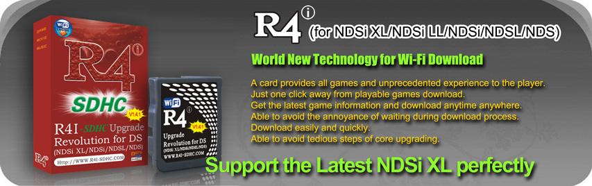 R4i SDHC Revolution for NDSi/NDSL/NDS