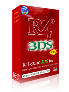 R4i-SDHC 3DS RTS luxury package